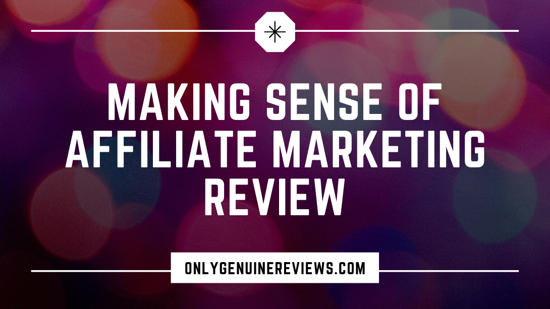 Making Sense of Affiliate Marketing Review Michelle Schroeder-Gardner Course