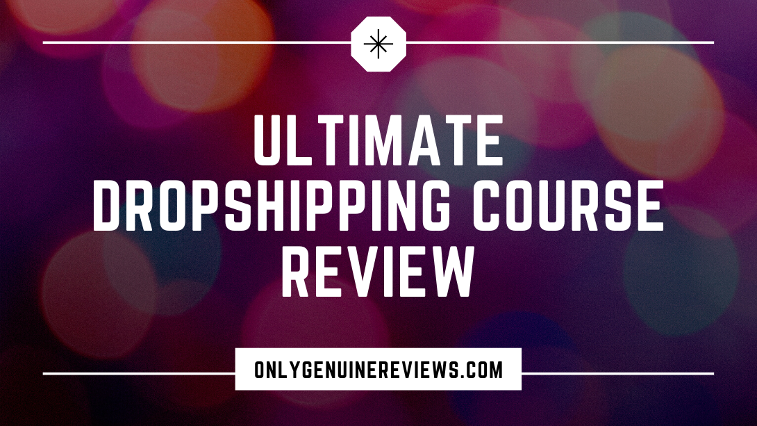 Ultimate Dropshipping Course Review Financial Joy Course
